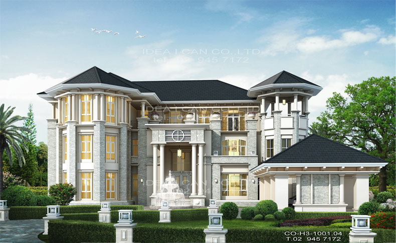 Www.architect Bkk on Neoclassical Mansion Floor Plans